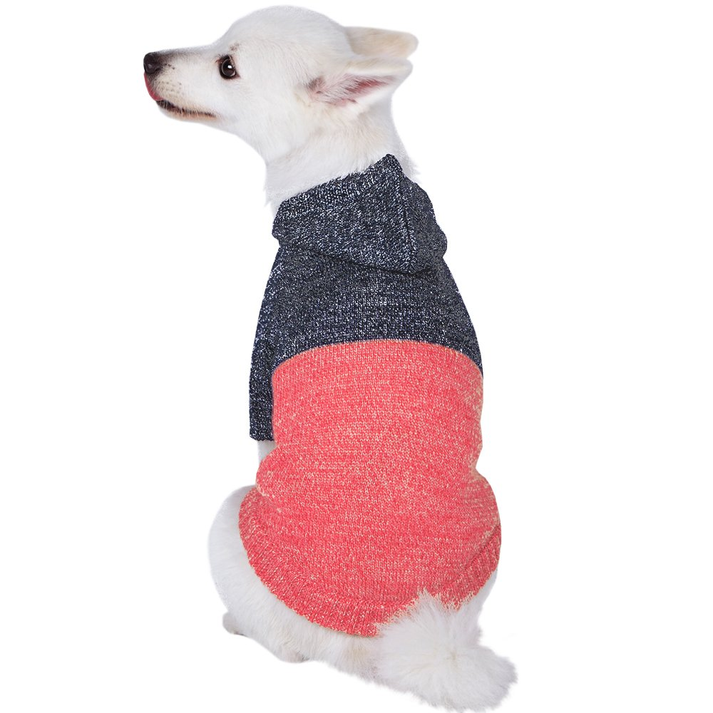 Blueberry pet hooded sweater